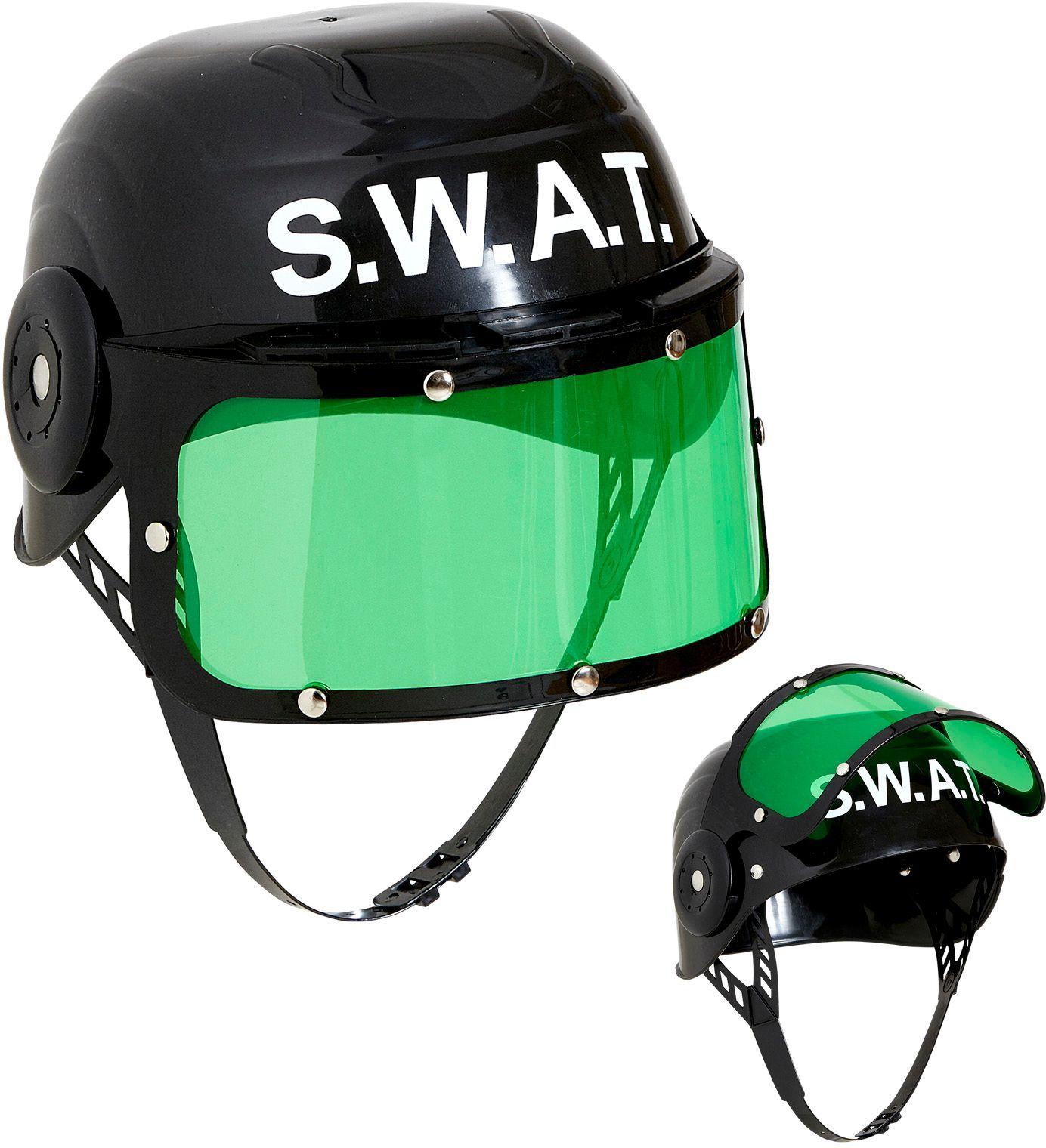 SWAT helm zwart