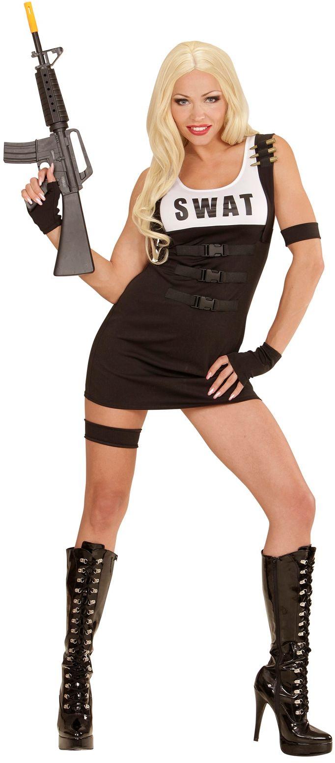 SWAT kostuum meisje