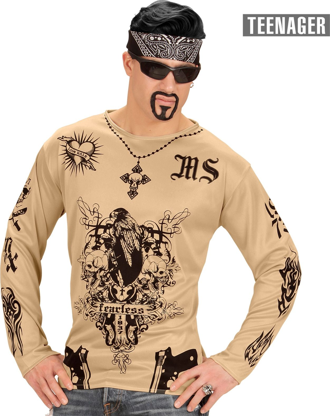 Tattoo shirt kind 164