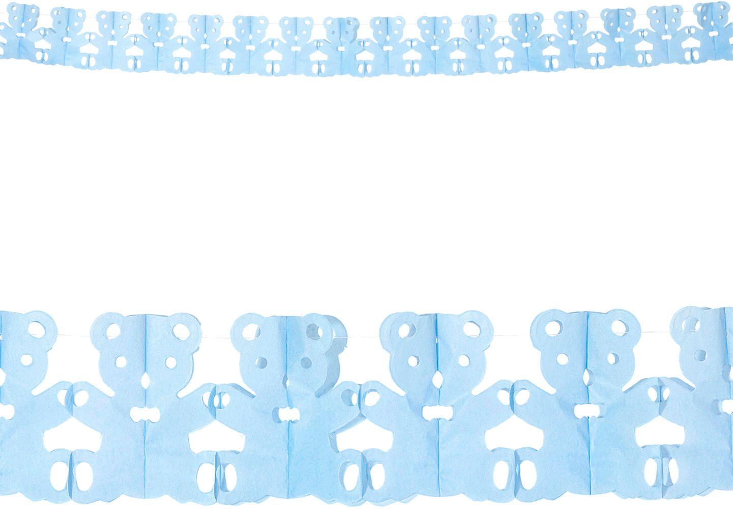 Teddy beer slingers blauw