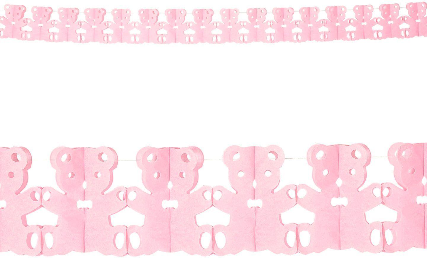 Teddy beer slingers roze