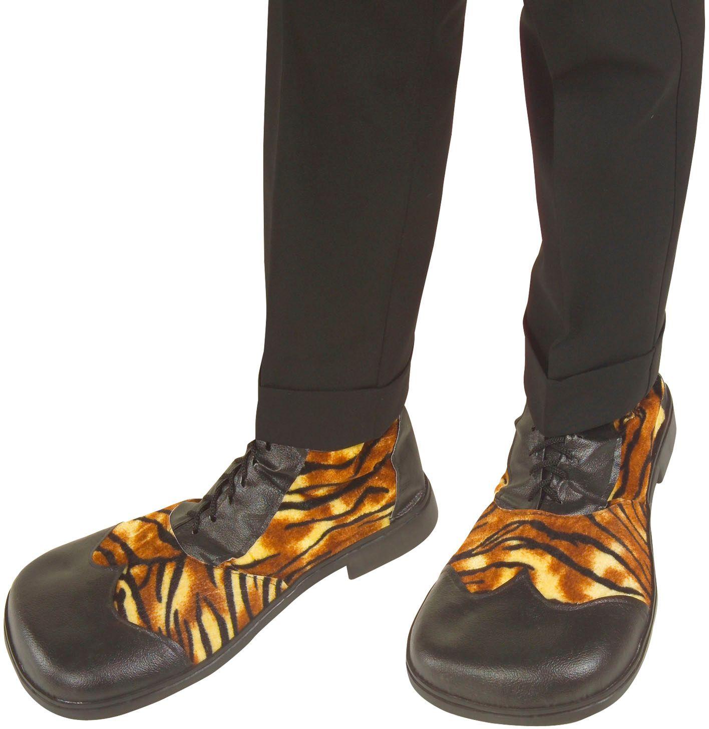 Tijger feest schoenen