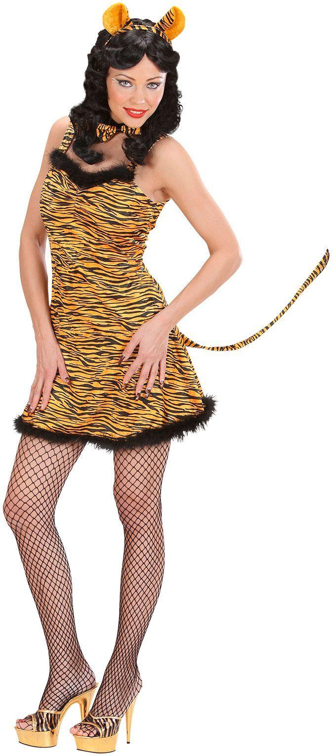 Tijger jurk