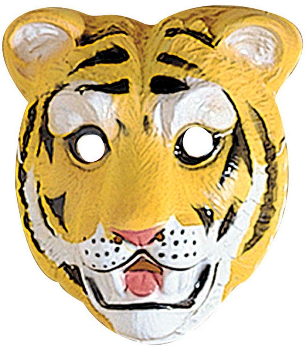 Tijger masker kind plastic