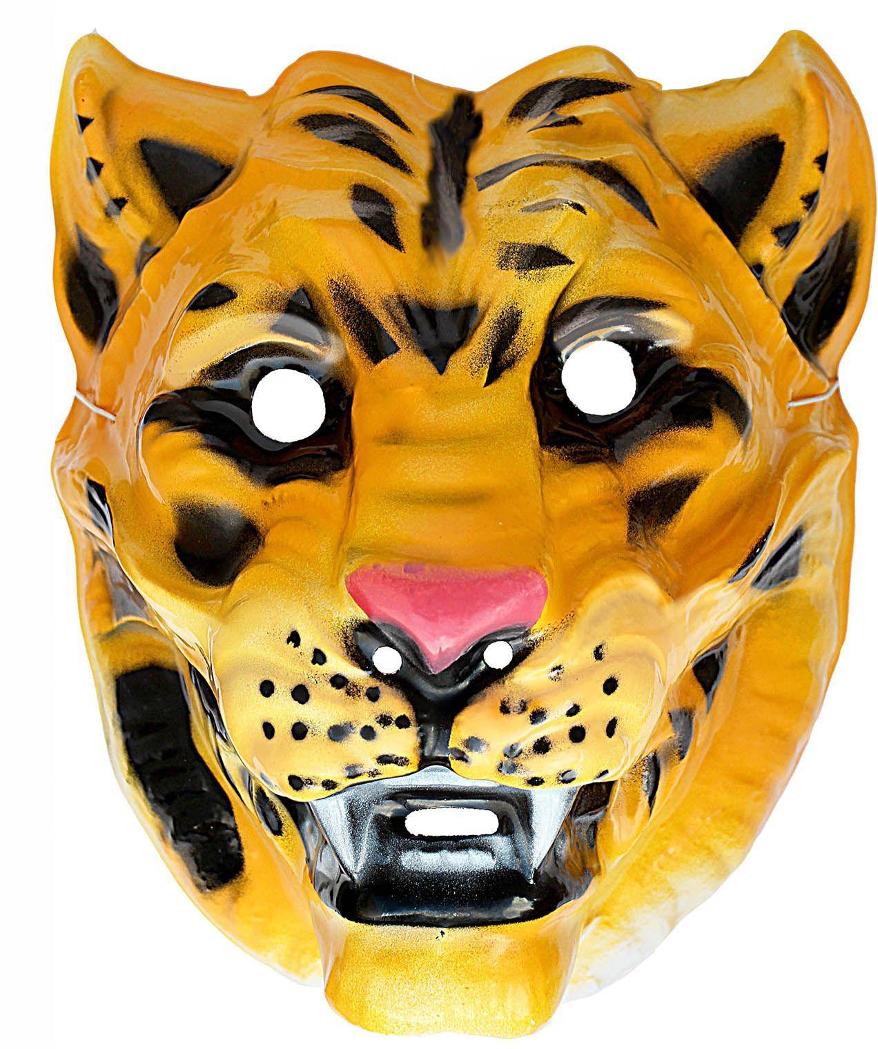 Tijger masker plastic