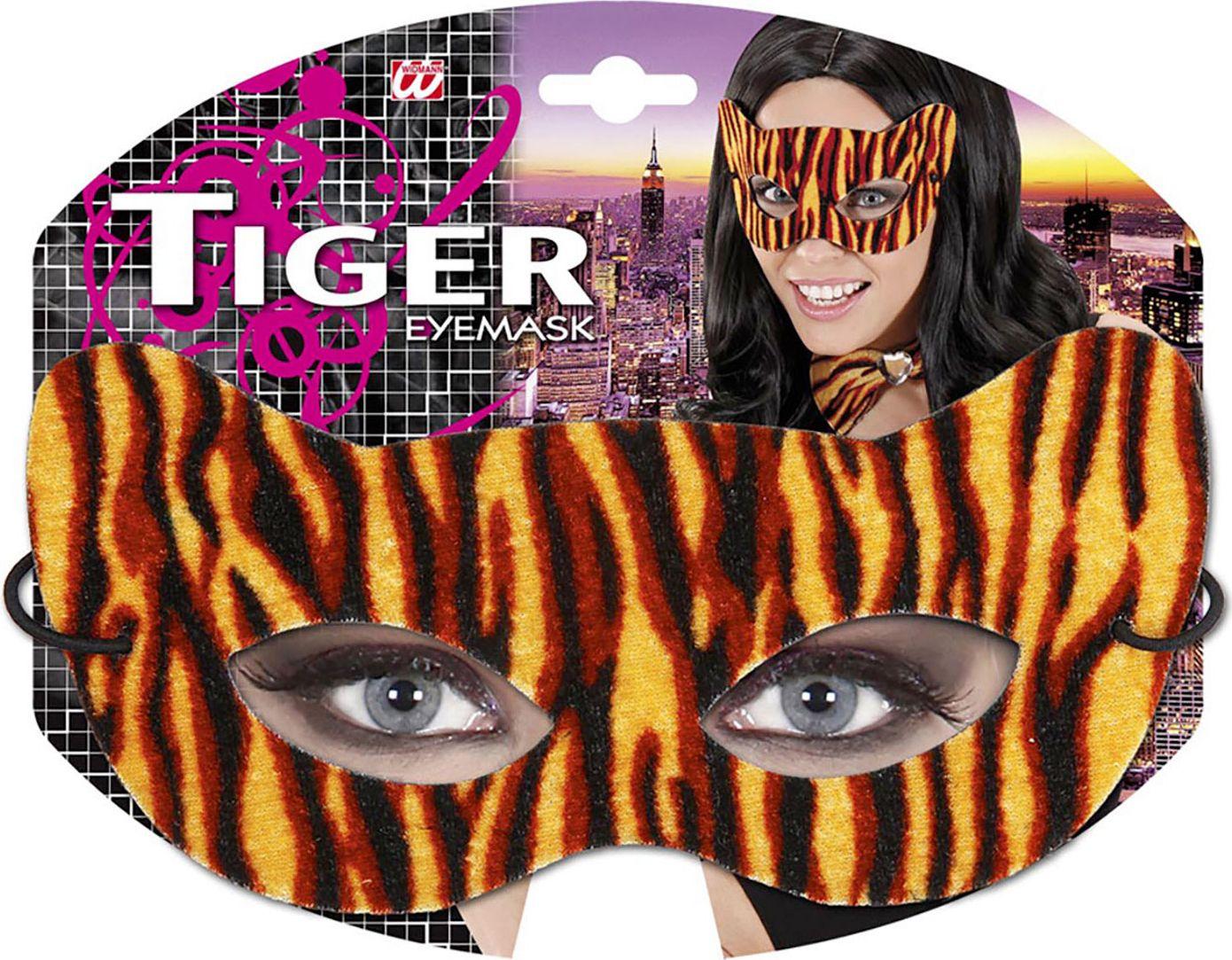 Tijger print oogmasker