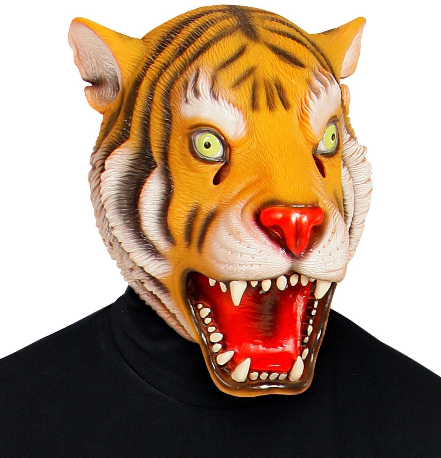 Tijgerkop masker