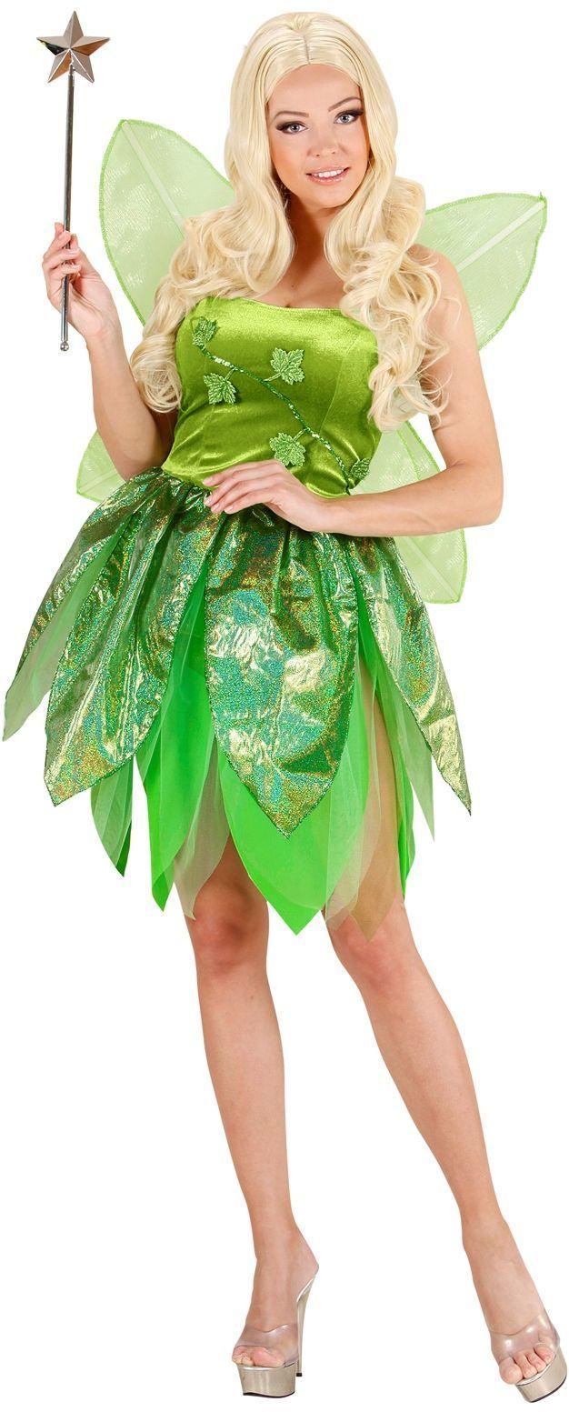 Tinkerbell kostuum dames