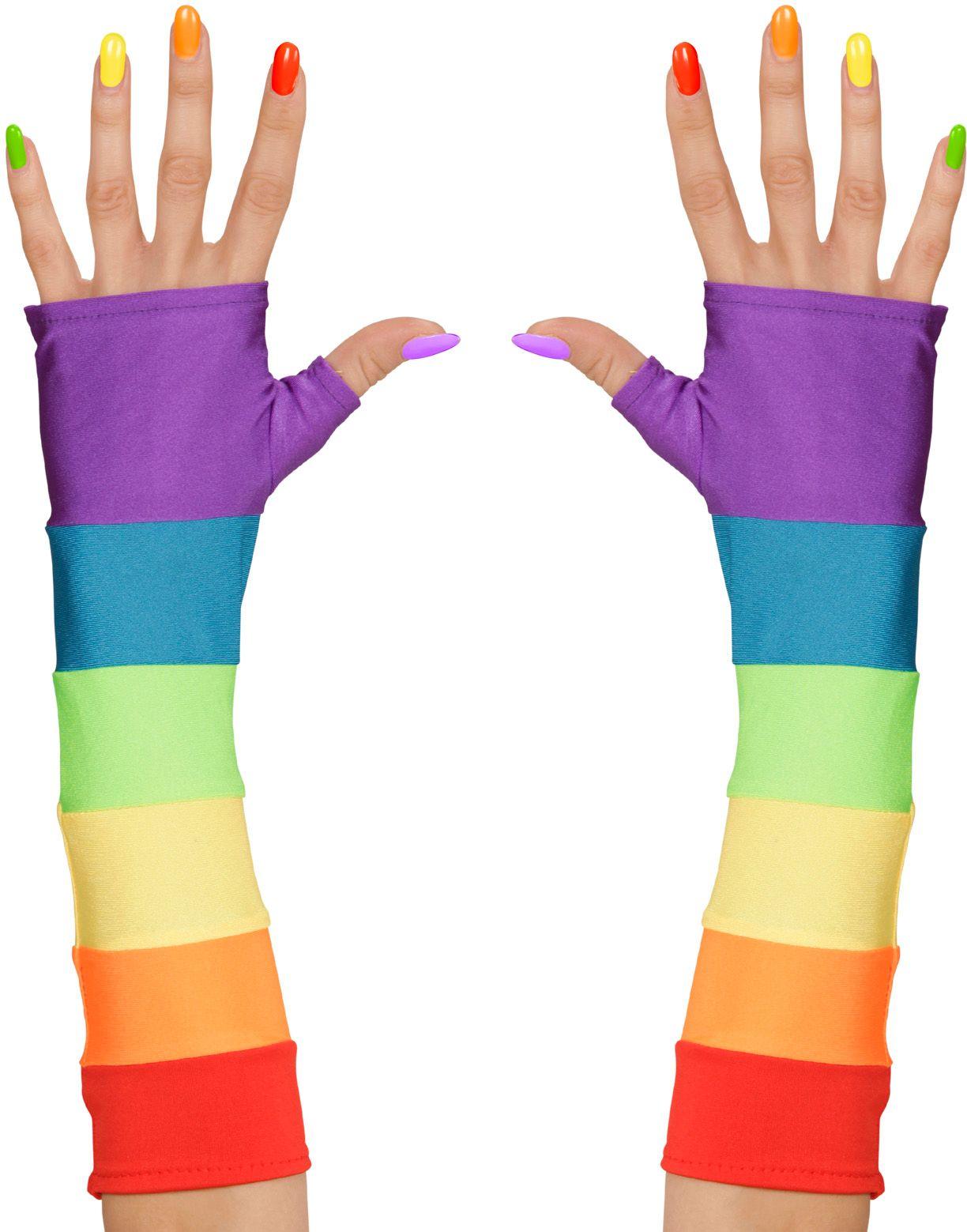 Toploze Gay Pride handschoenen
