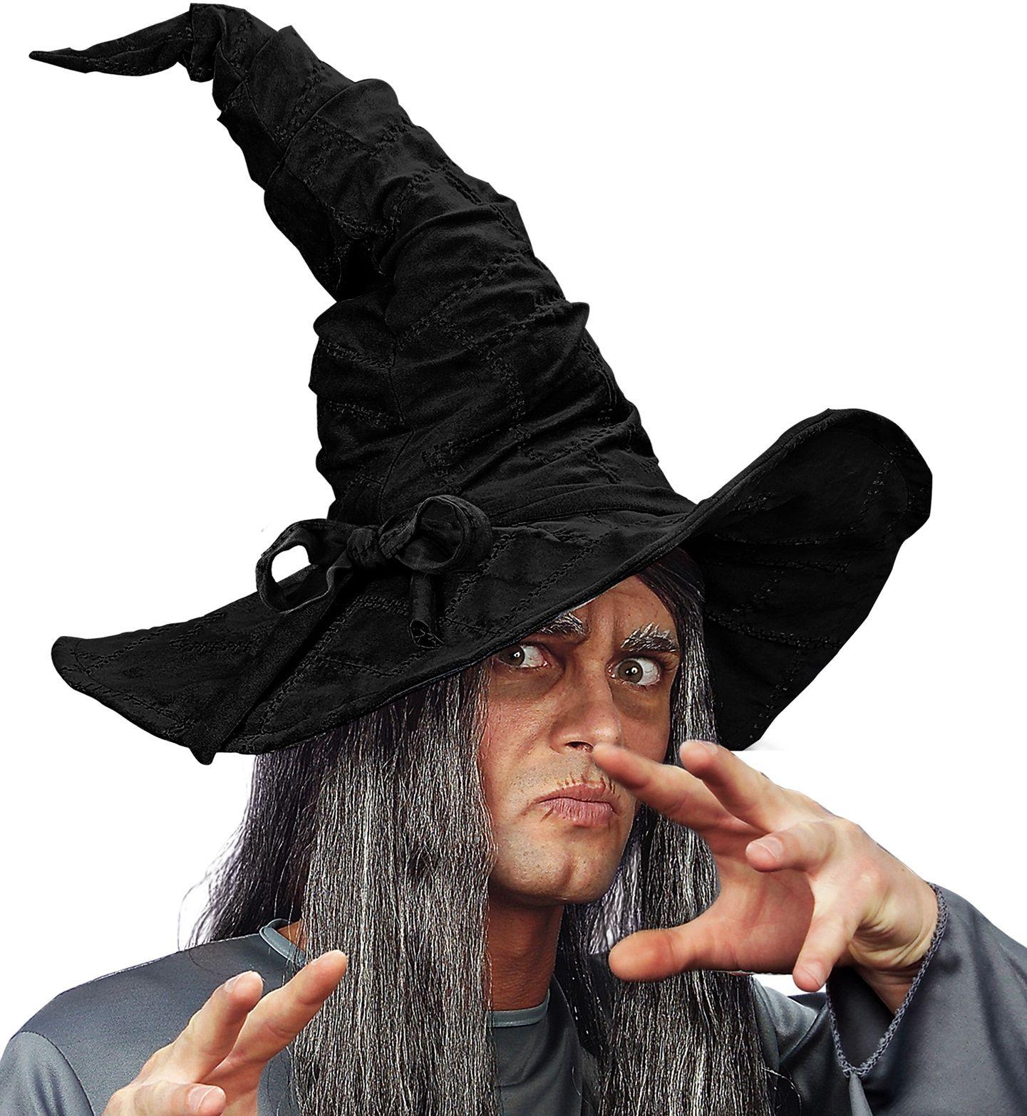 Tovenaar hoed zwart