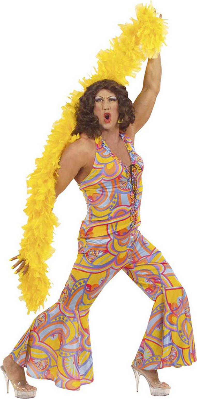 Travestiet disco kleding jaren 70