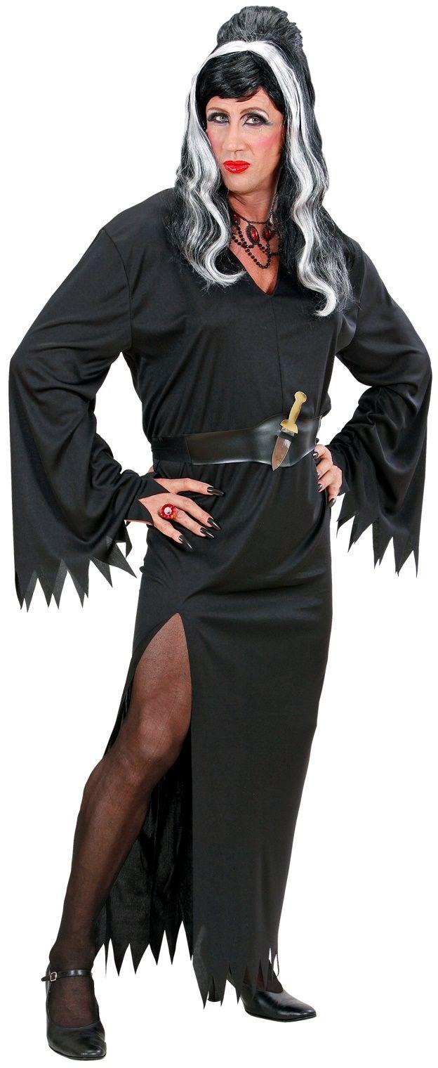 Travestiet Elvira kostuum
