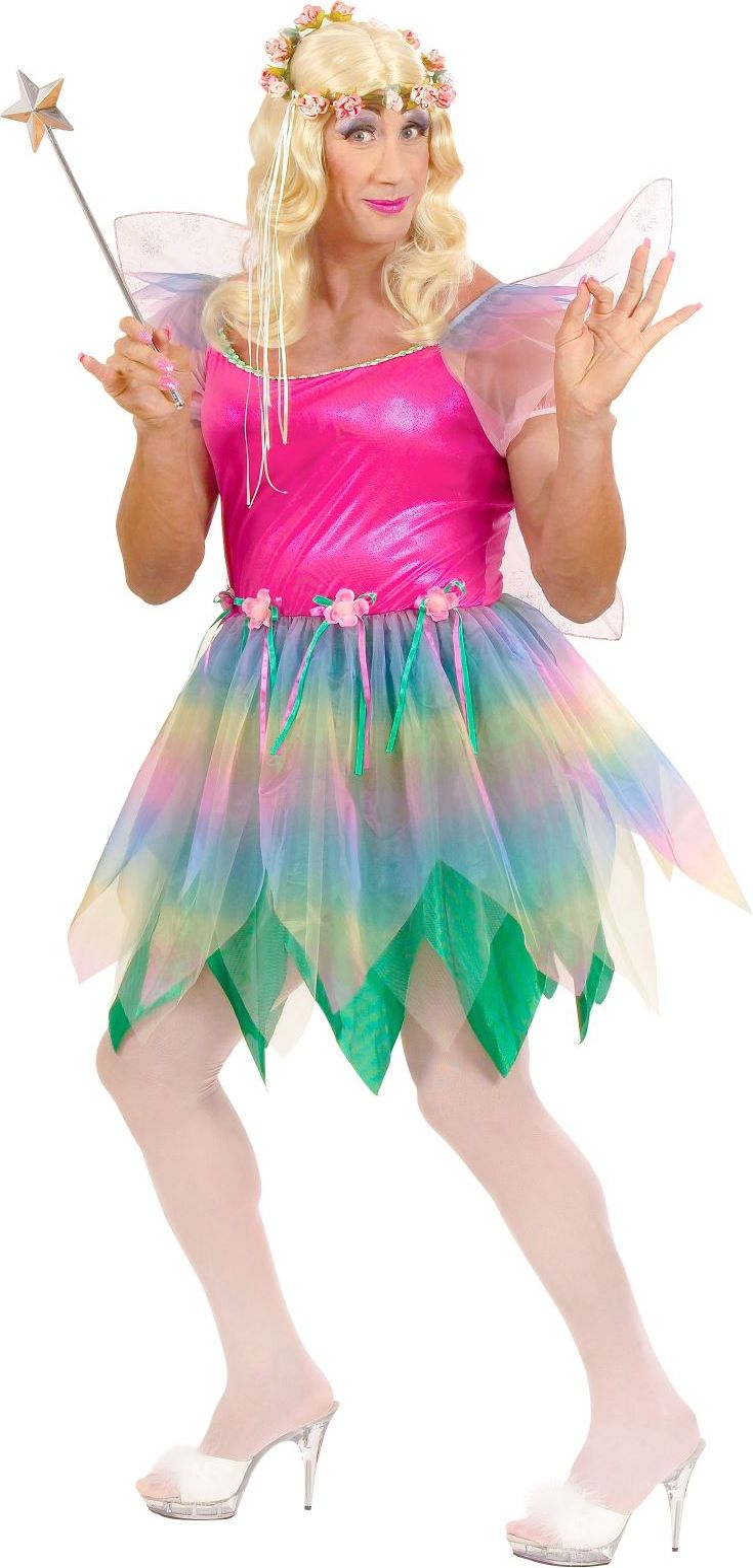 Travestiet feeën jurk