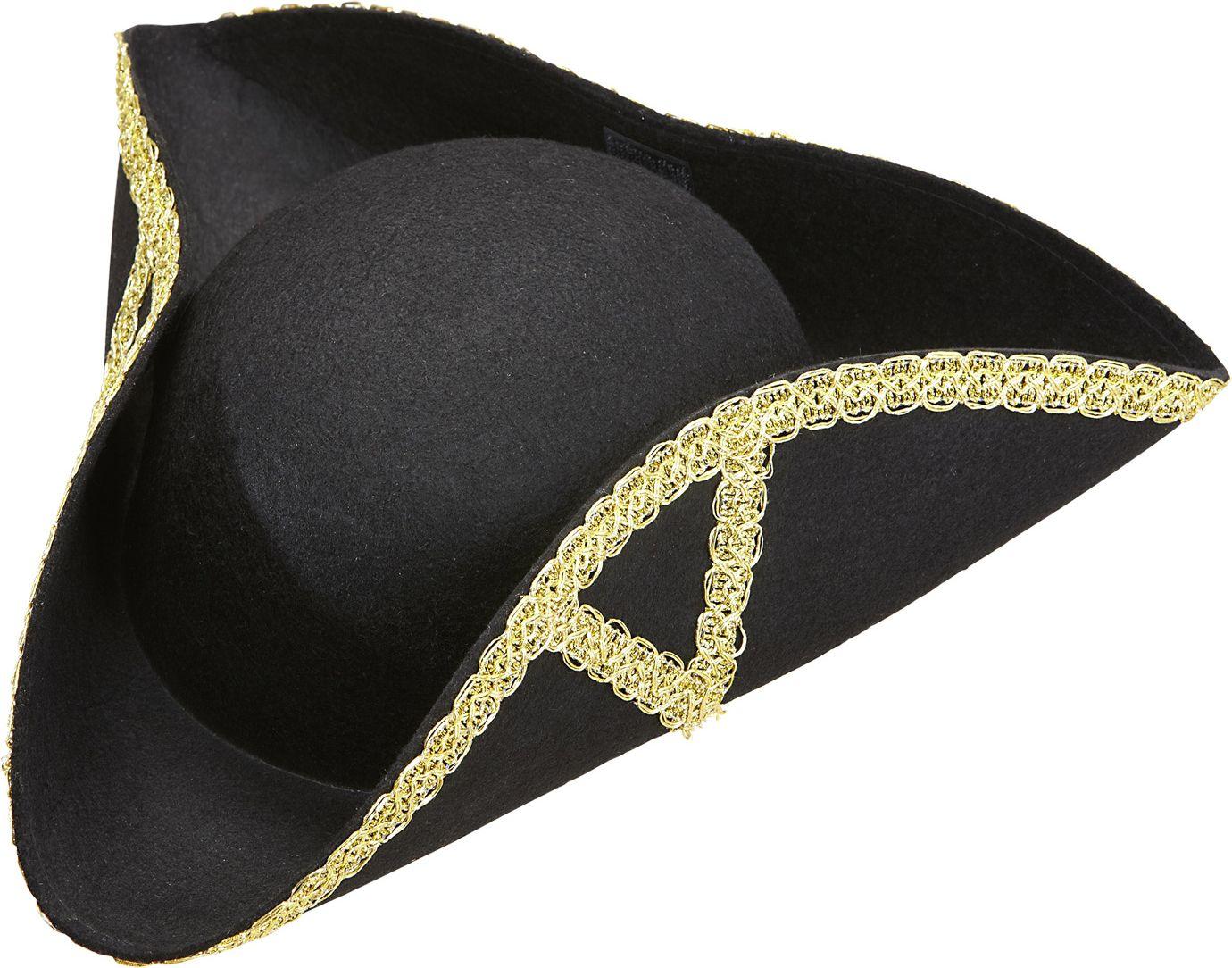 Tricorn piraat hoed