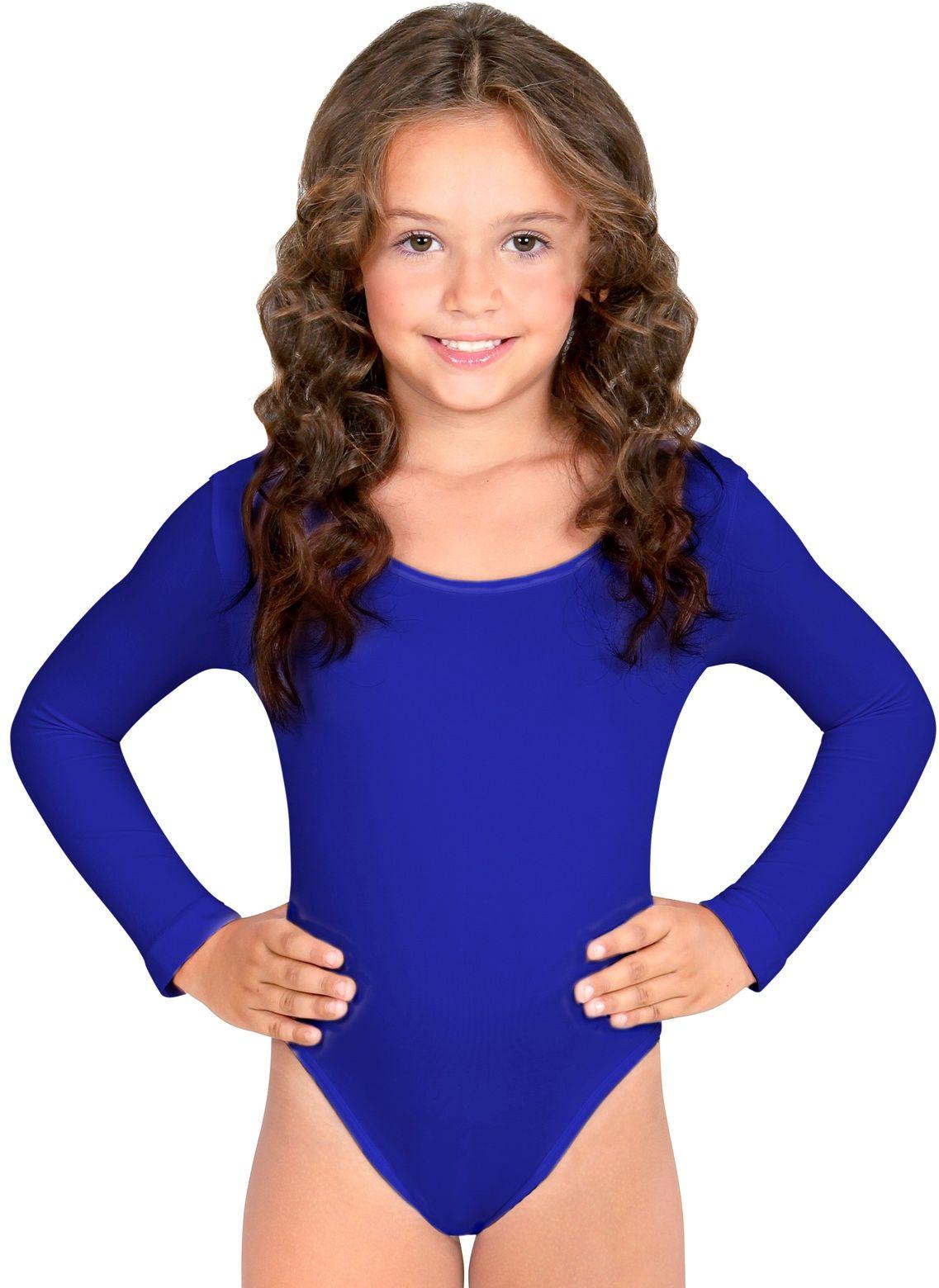 Turnpak meisjes blauw