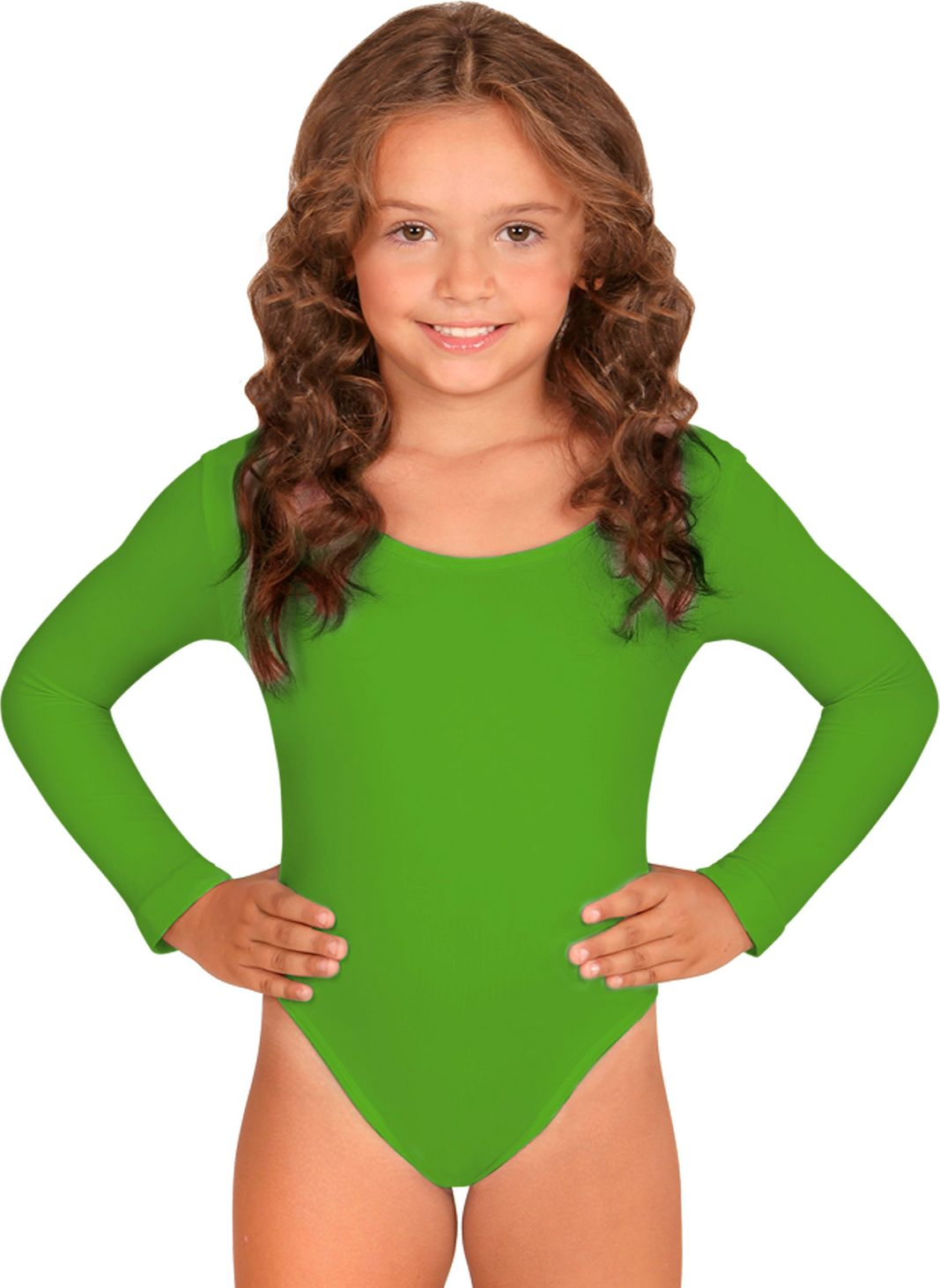 Turnpak meisjes groen