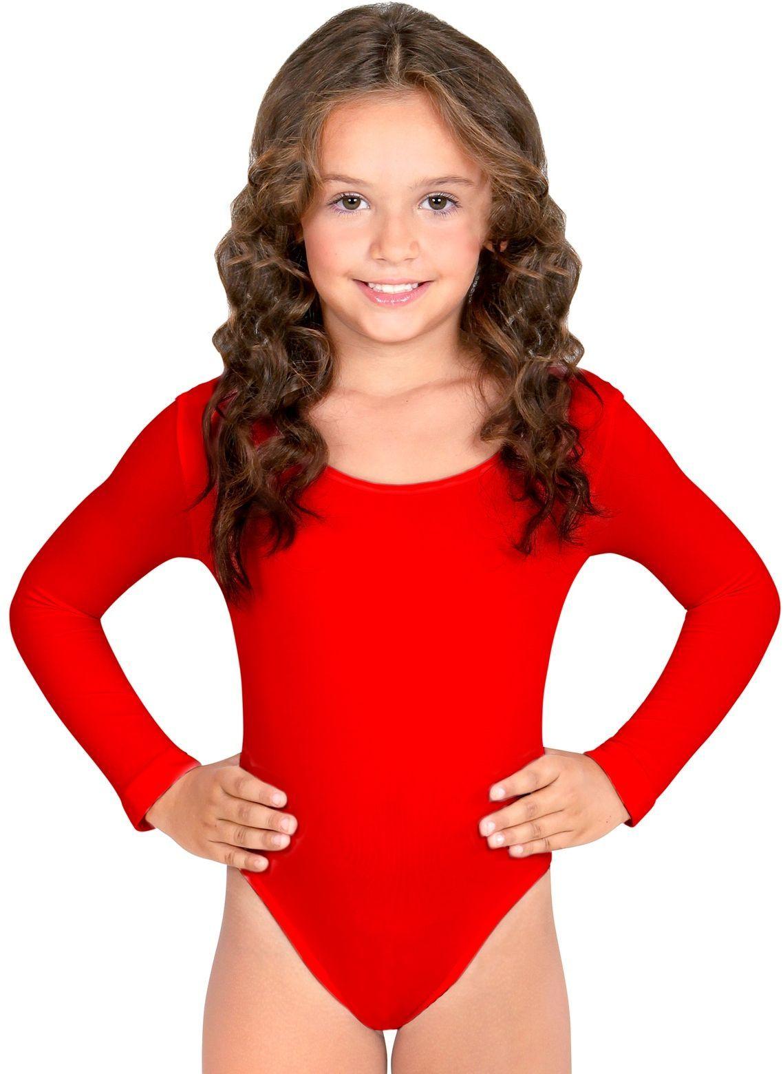 Turnpak meisjes rood