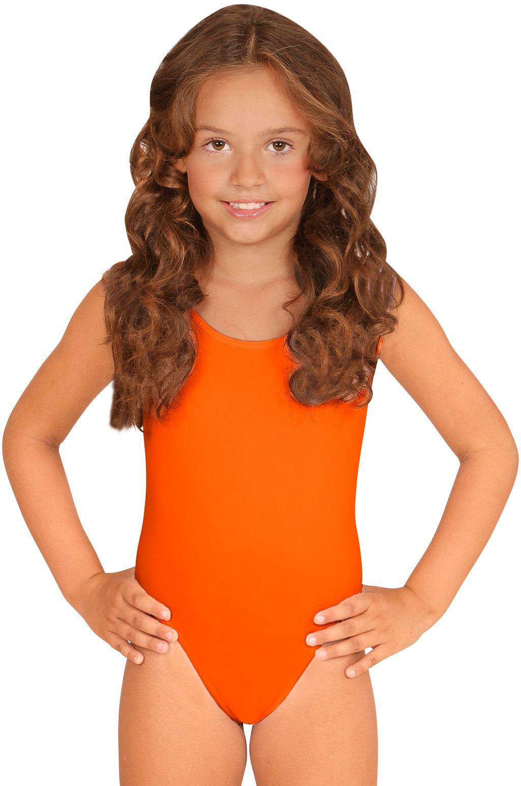 Turnpakje meisjes oranje