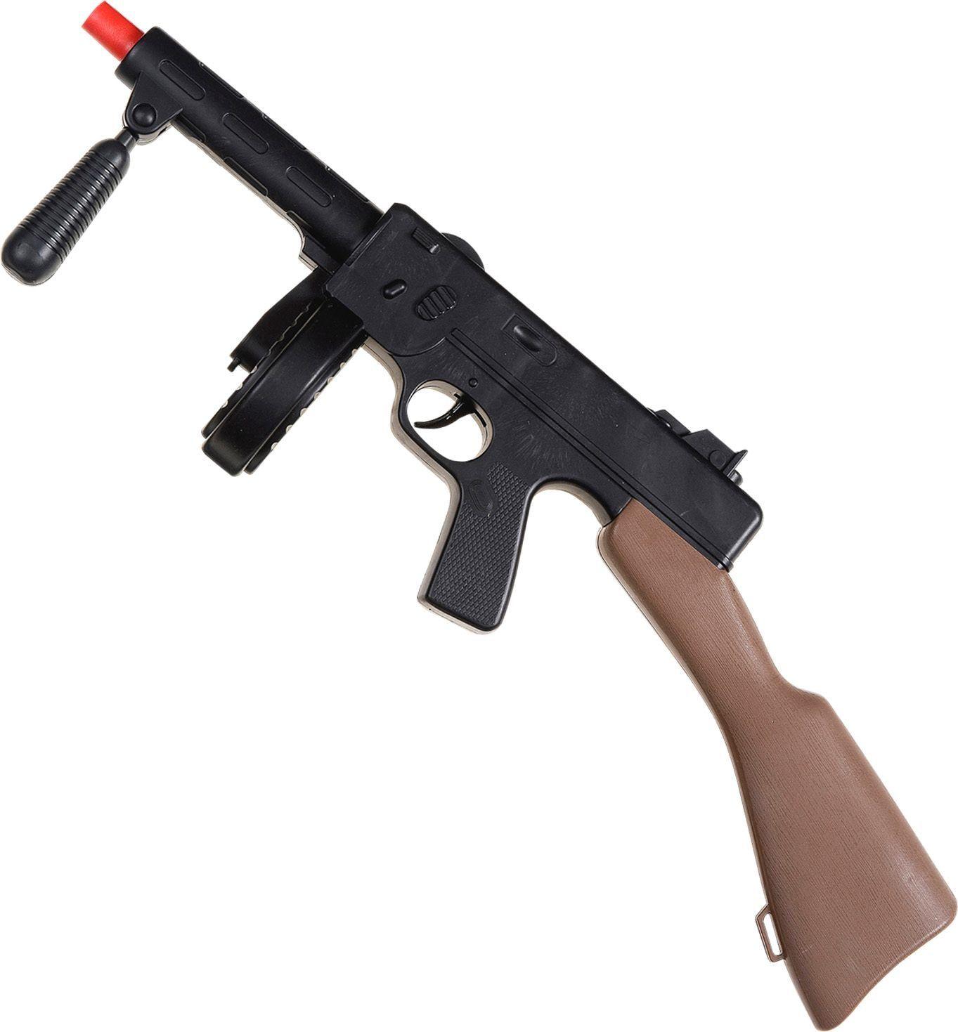 Ump met machinegeweer geluid