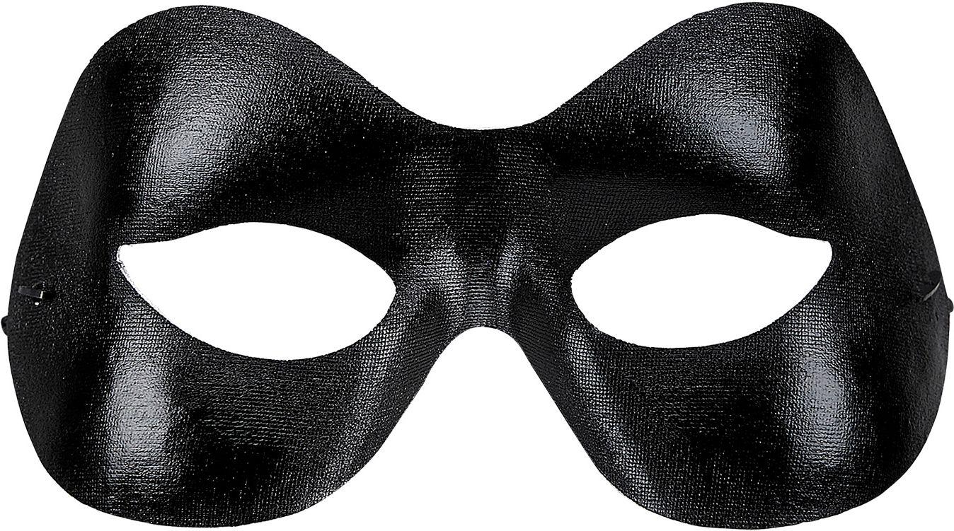Uniseks SM oogmasker zwart