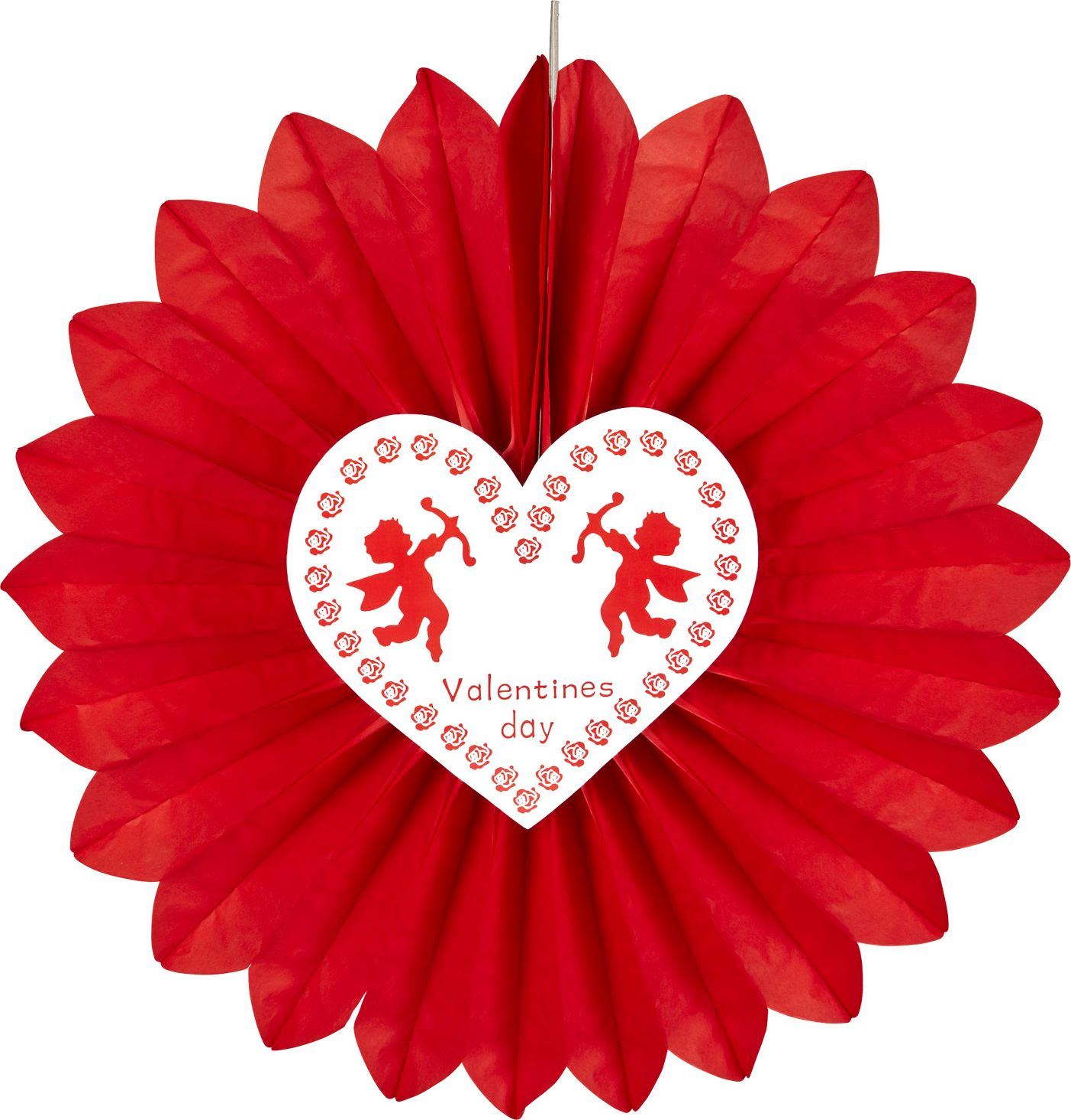 Valentijn waaier