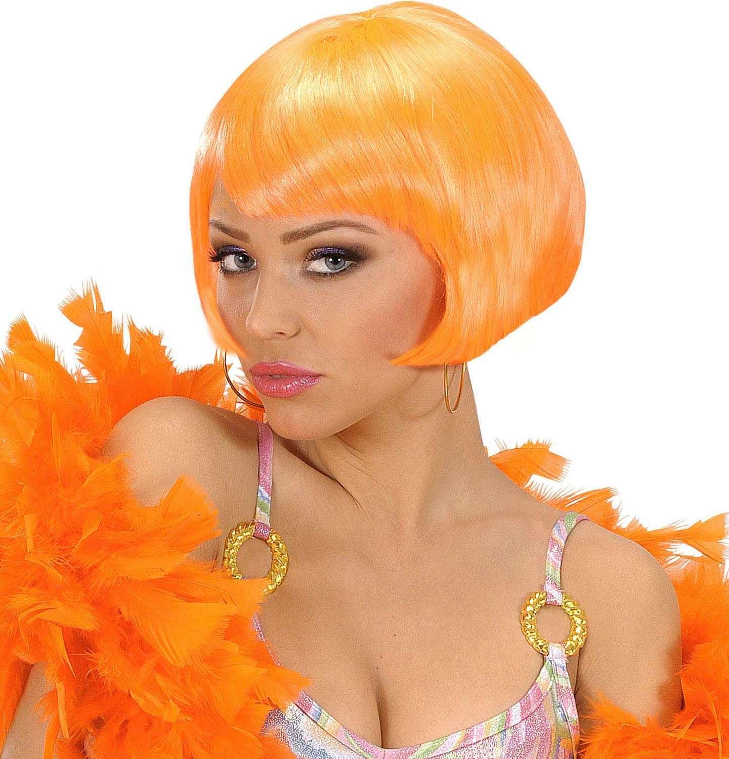 Valentina pruik oranje