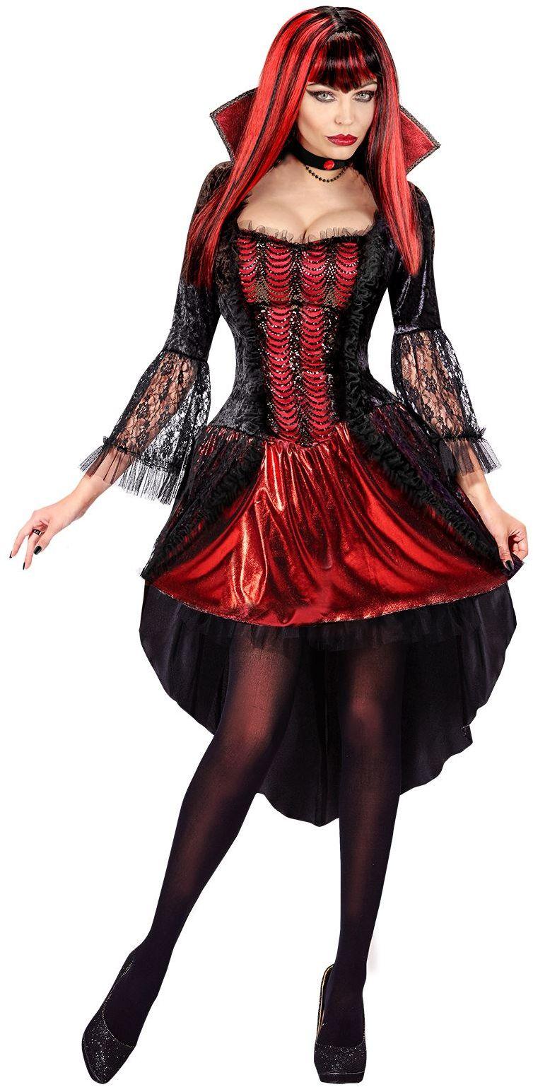Vampier jurk halloween