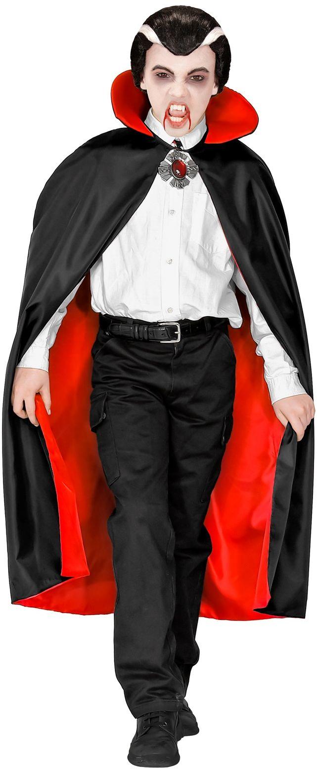 Vampier kinder cape met kraag