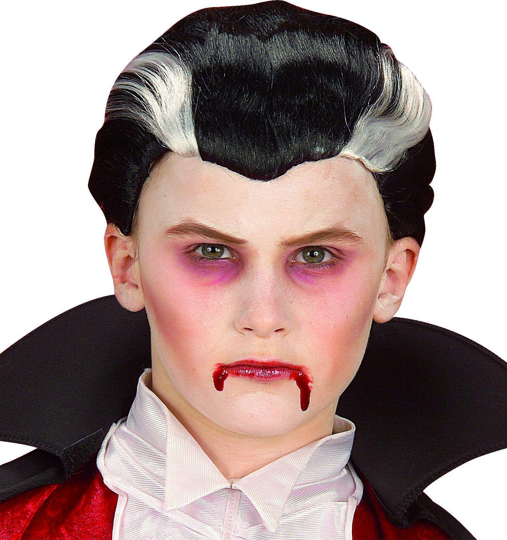 Vampier pruik kind
