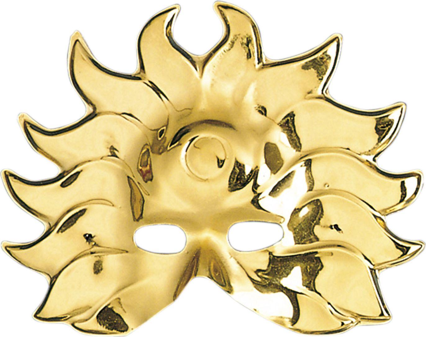 Venetiaans carnaval masker goud