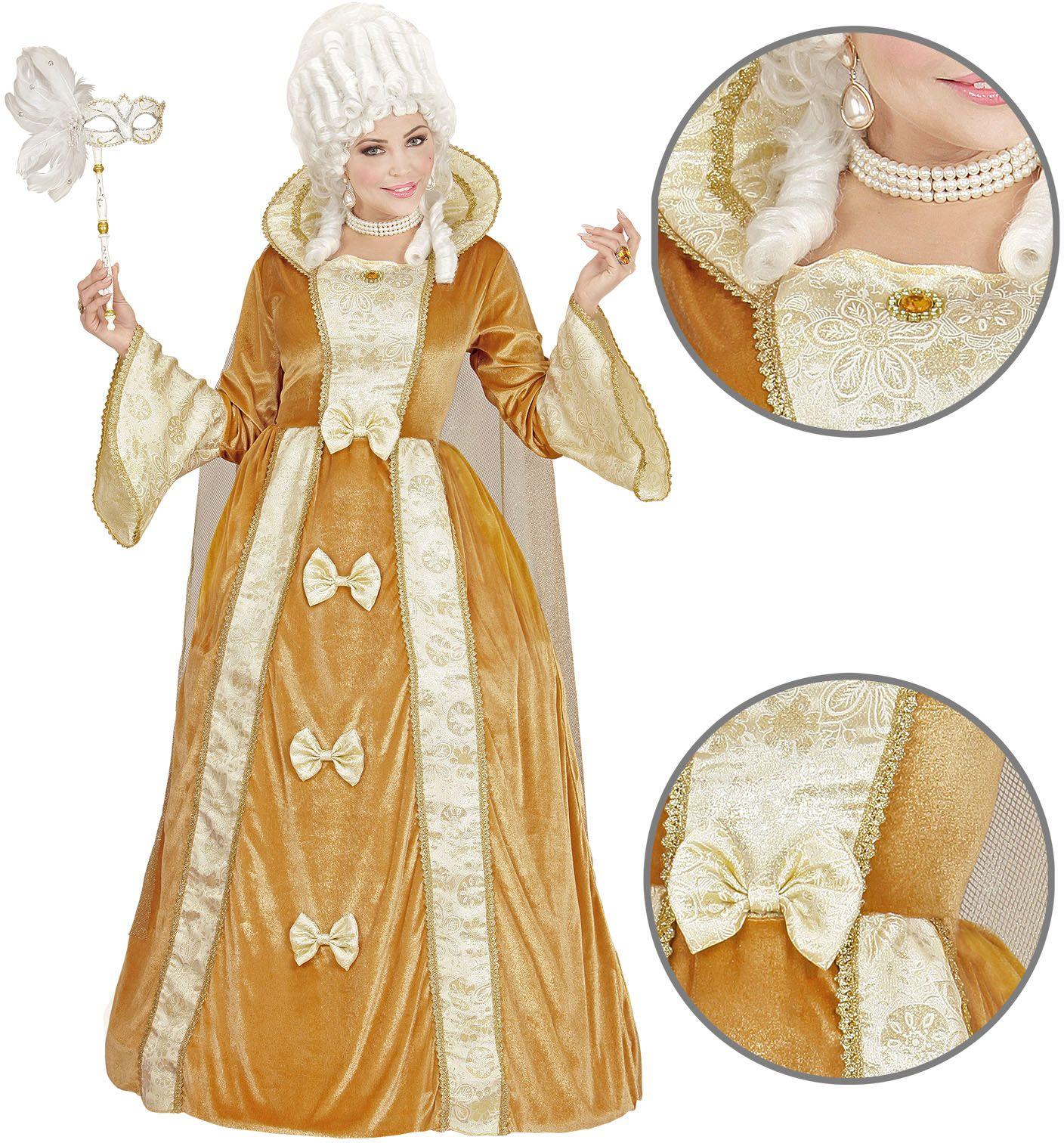 Venetiaans edelvrouw kostuum