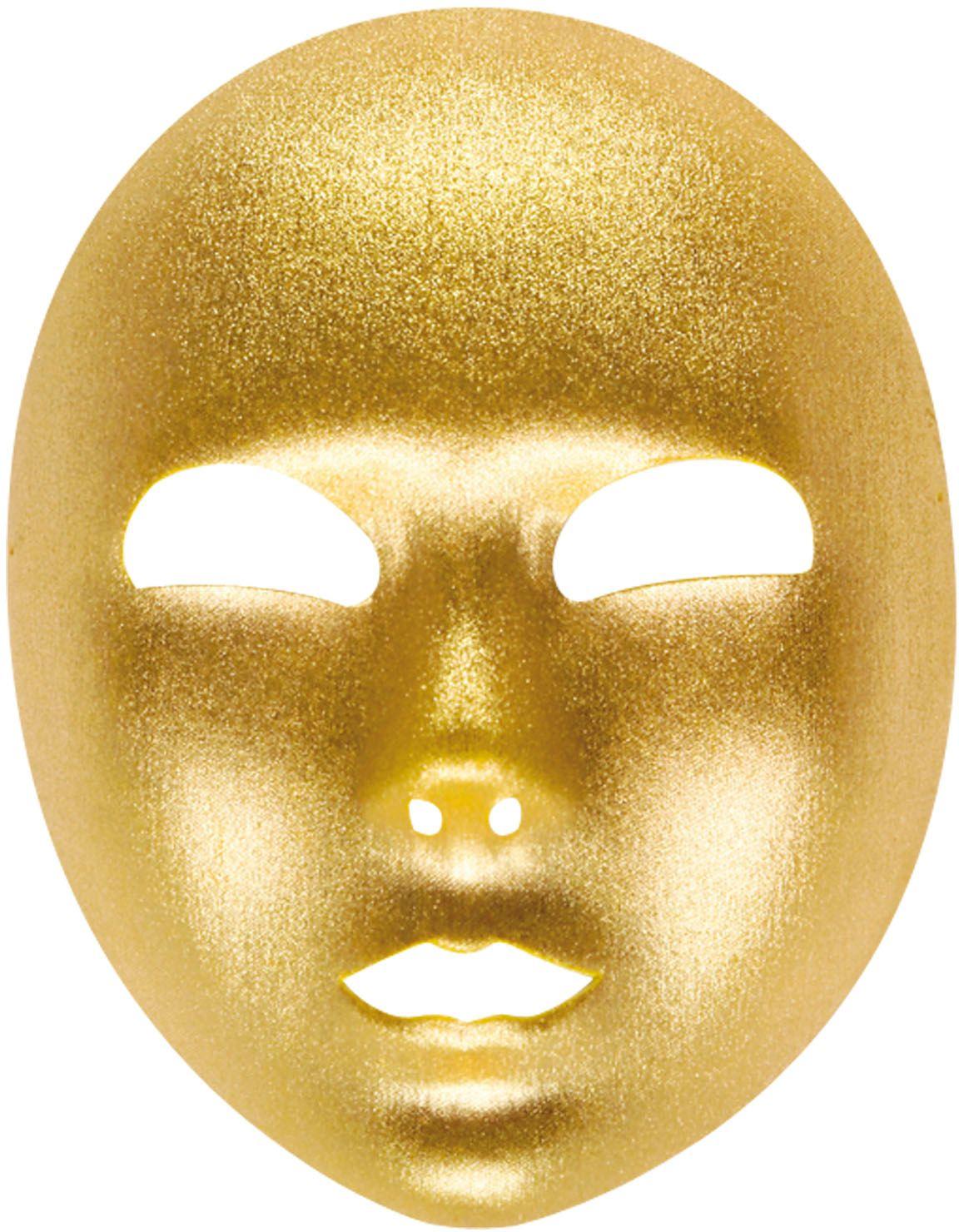 Venetiaanse carnaval masker goud