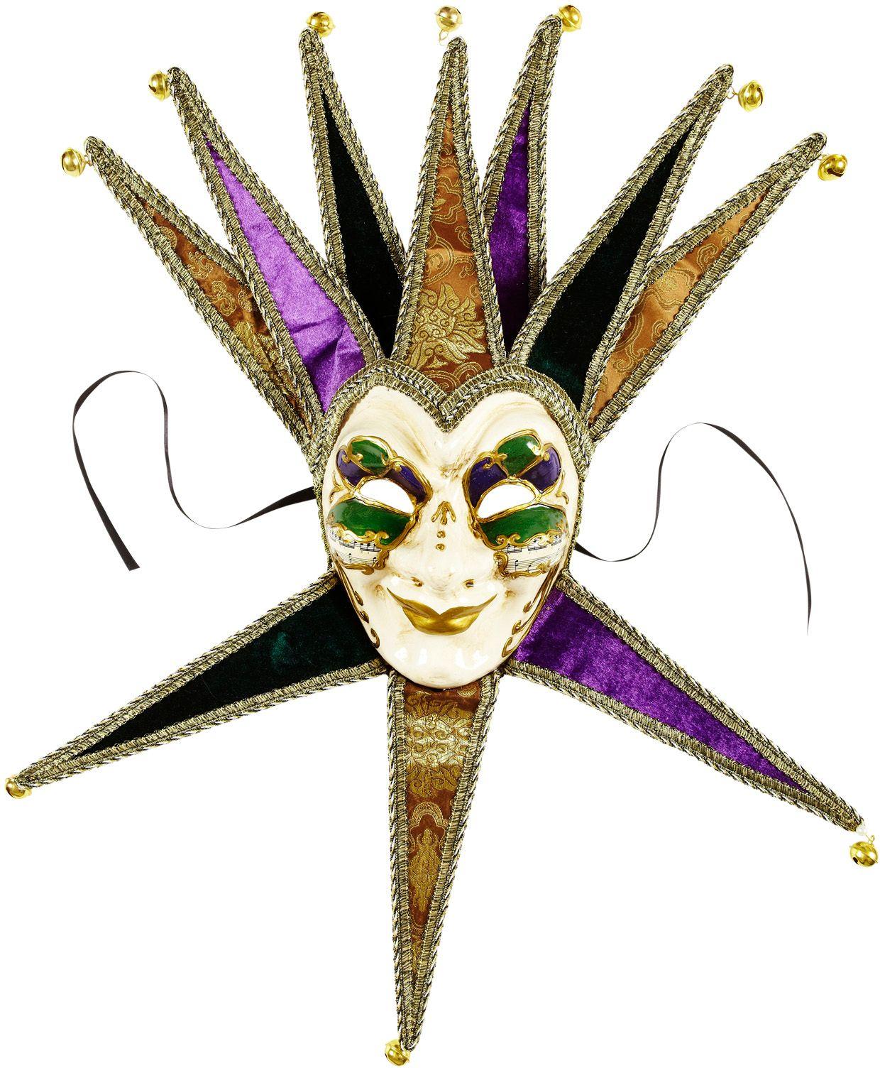 Venetiaanse Jolly Joker masker