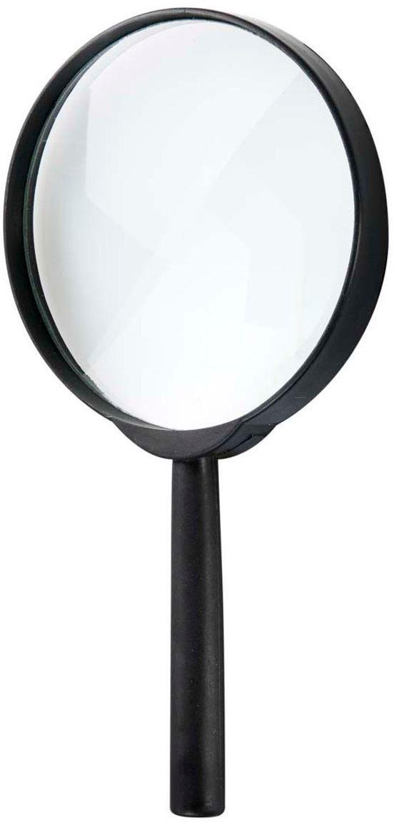 Vergrootglas zwart
