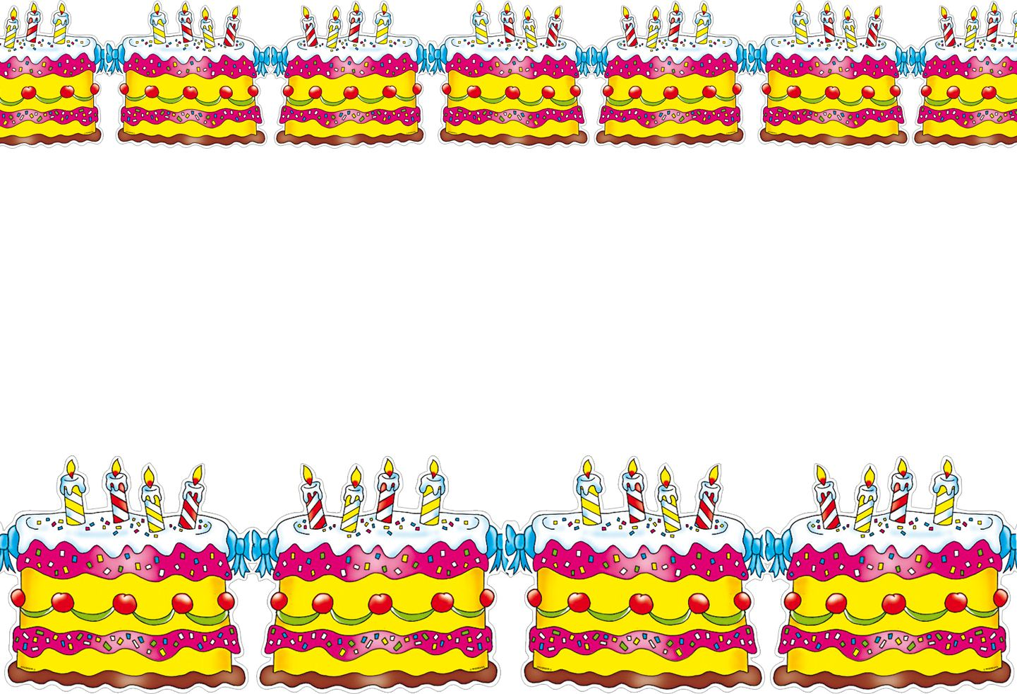 Verjaardagstaart feestslinger