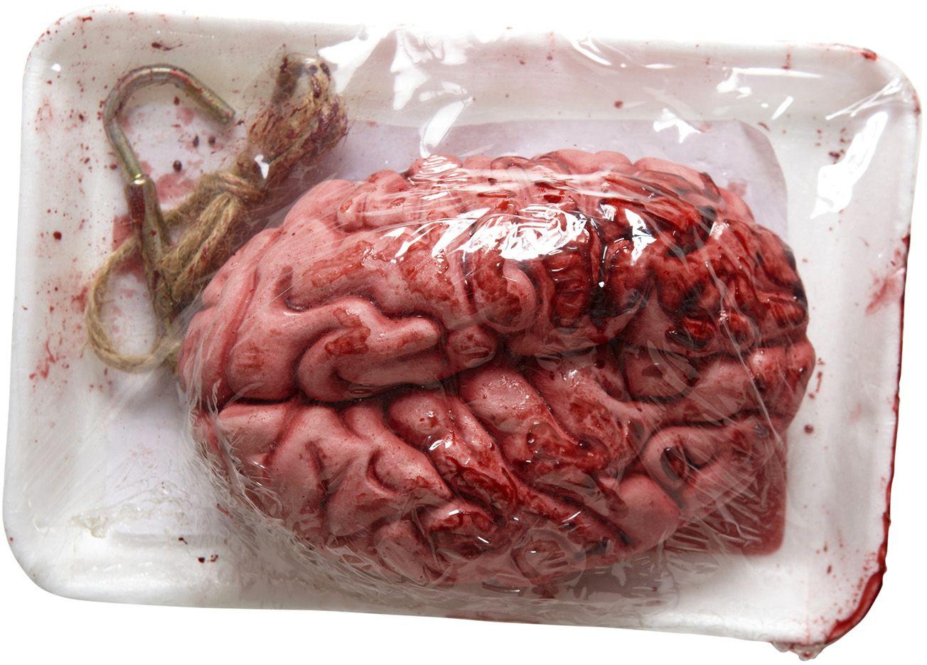 Verpakte bloedende brein