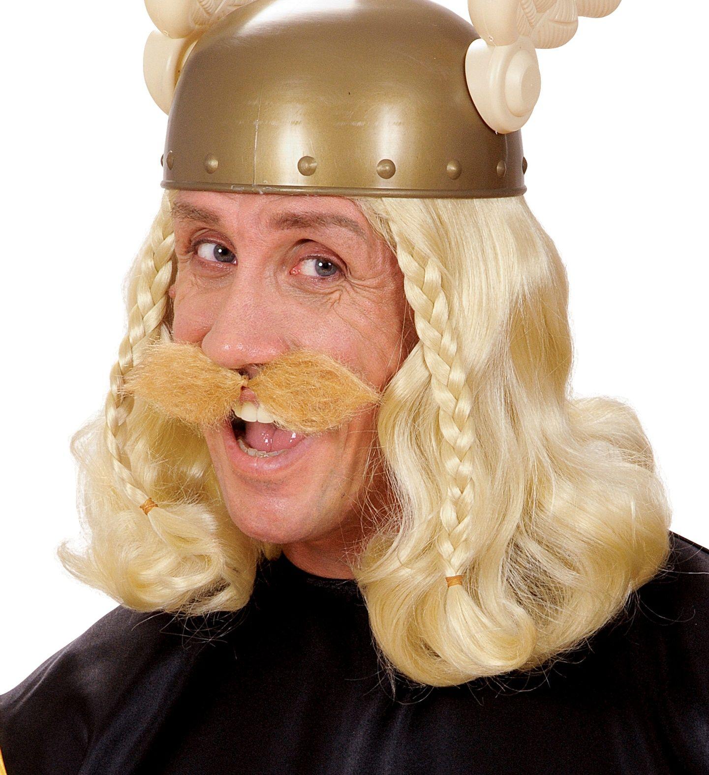 Viking snor blond