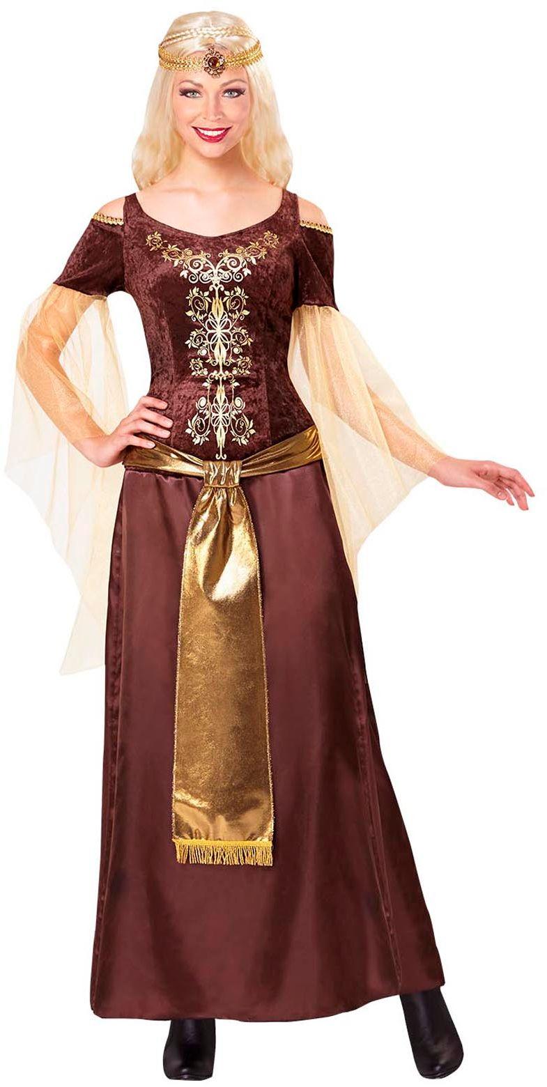 Viking vrouw kostuum