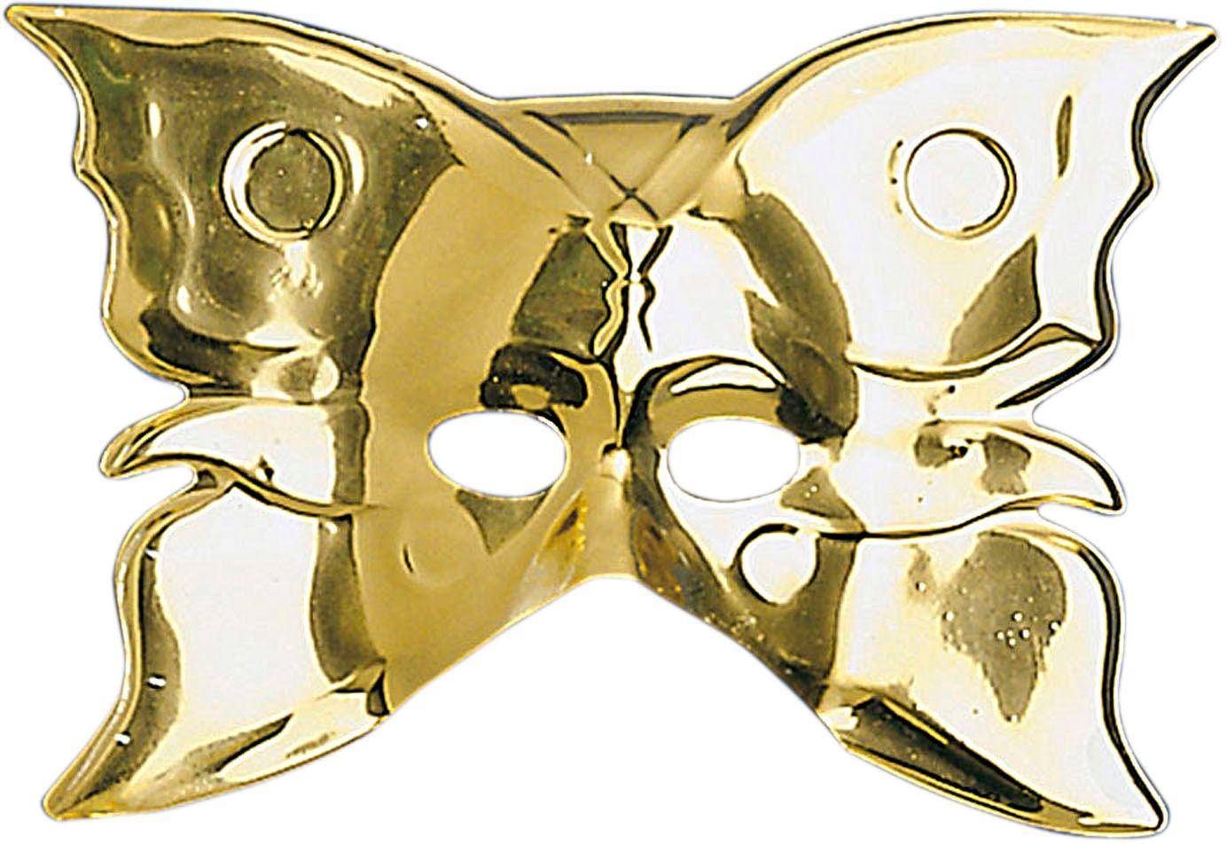 Vlinder masker goud