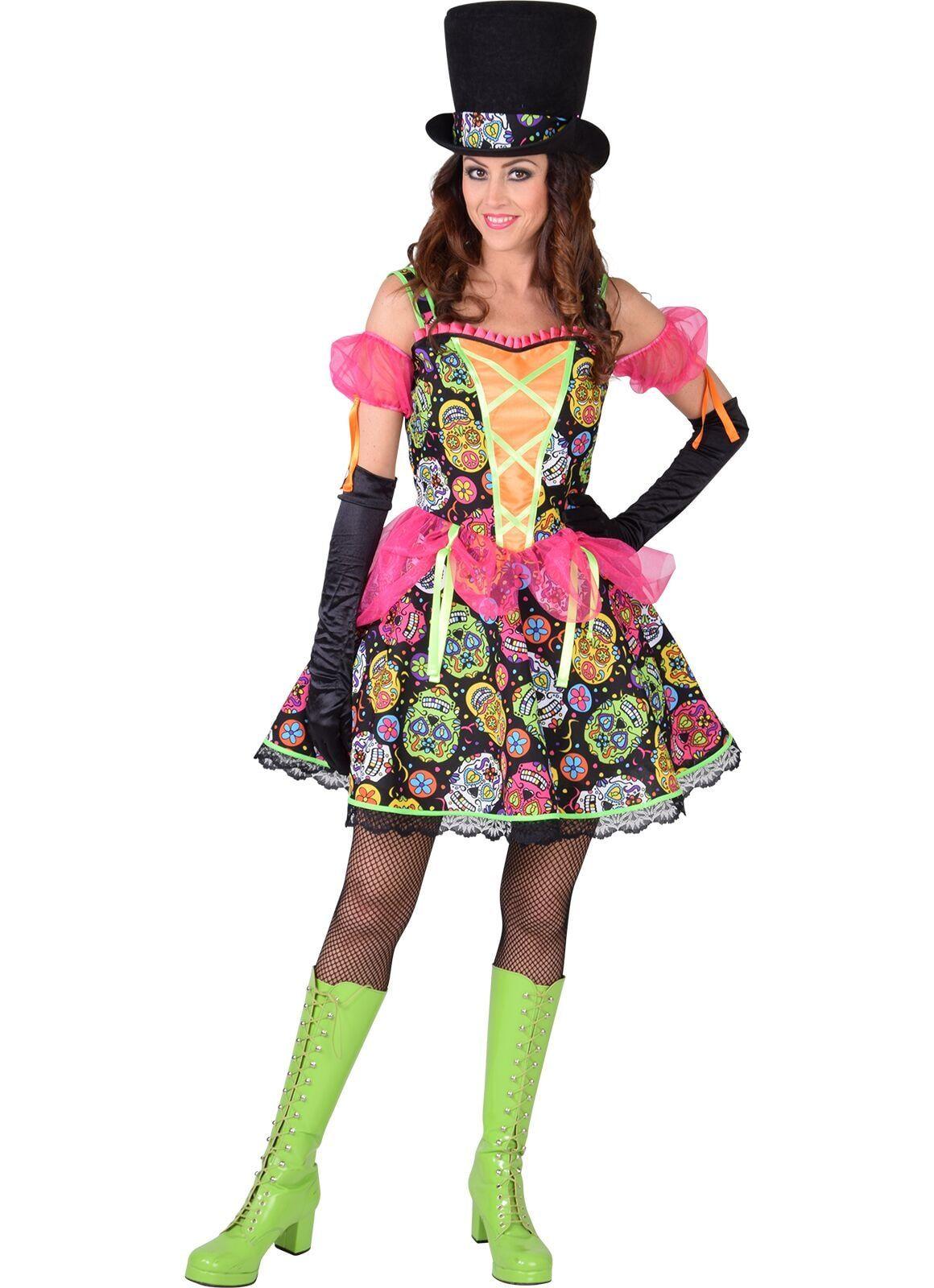 Vrouwen Dia de los Muertos jurk