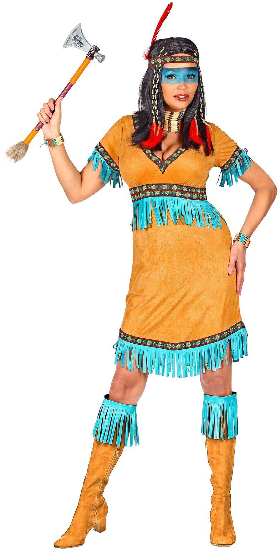 Vrouwen indianen jurkje