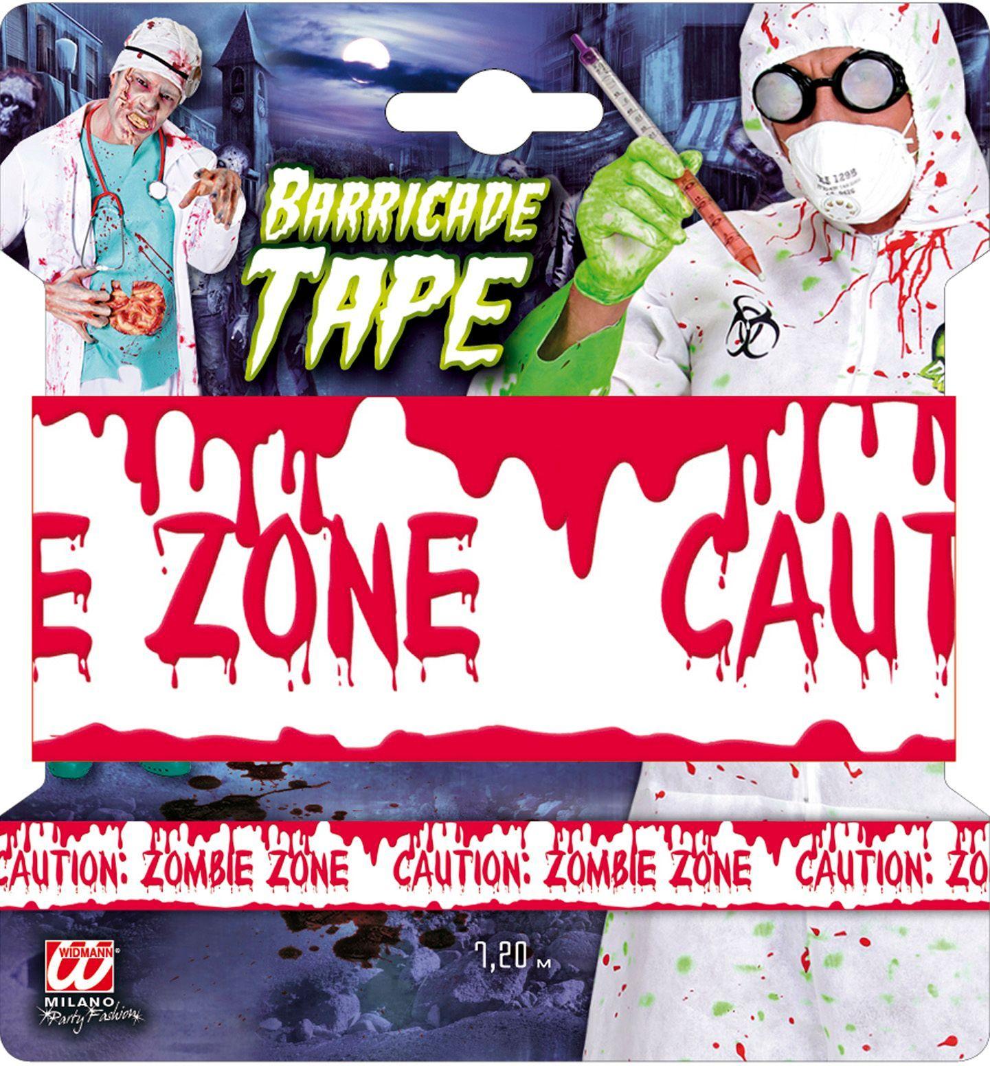 Waarschuwingstape: Zombie zone
