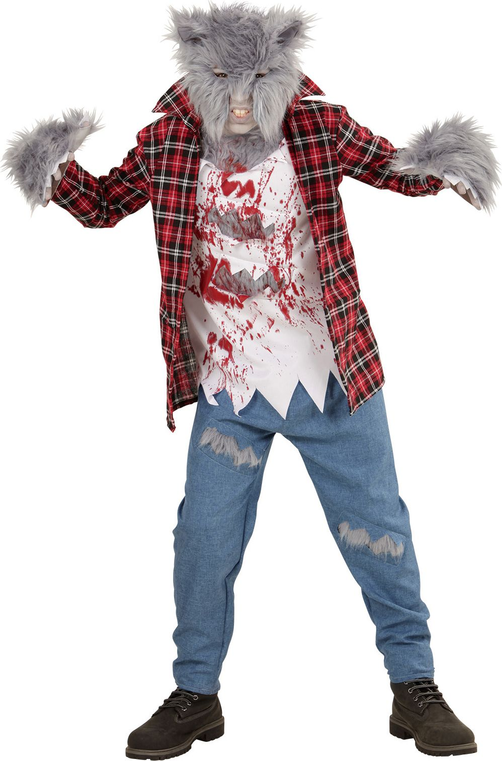 Weerwolf halloween kind
