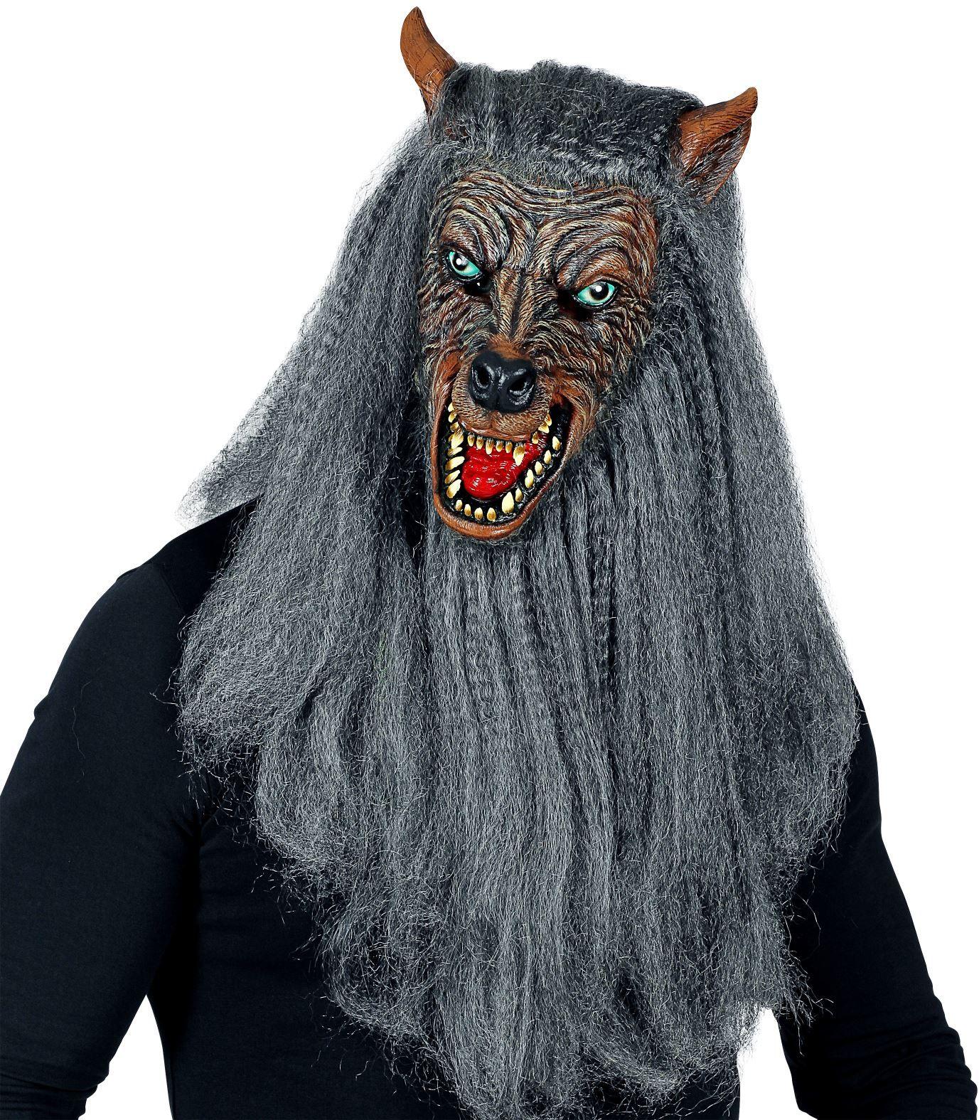 Weerwolf Halloween masker