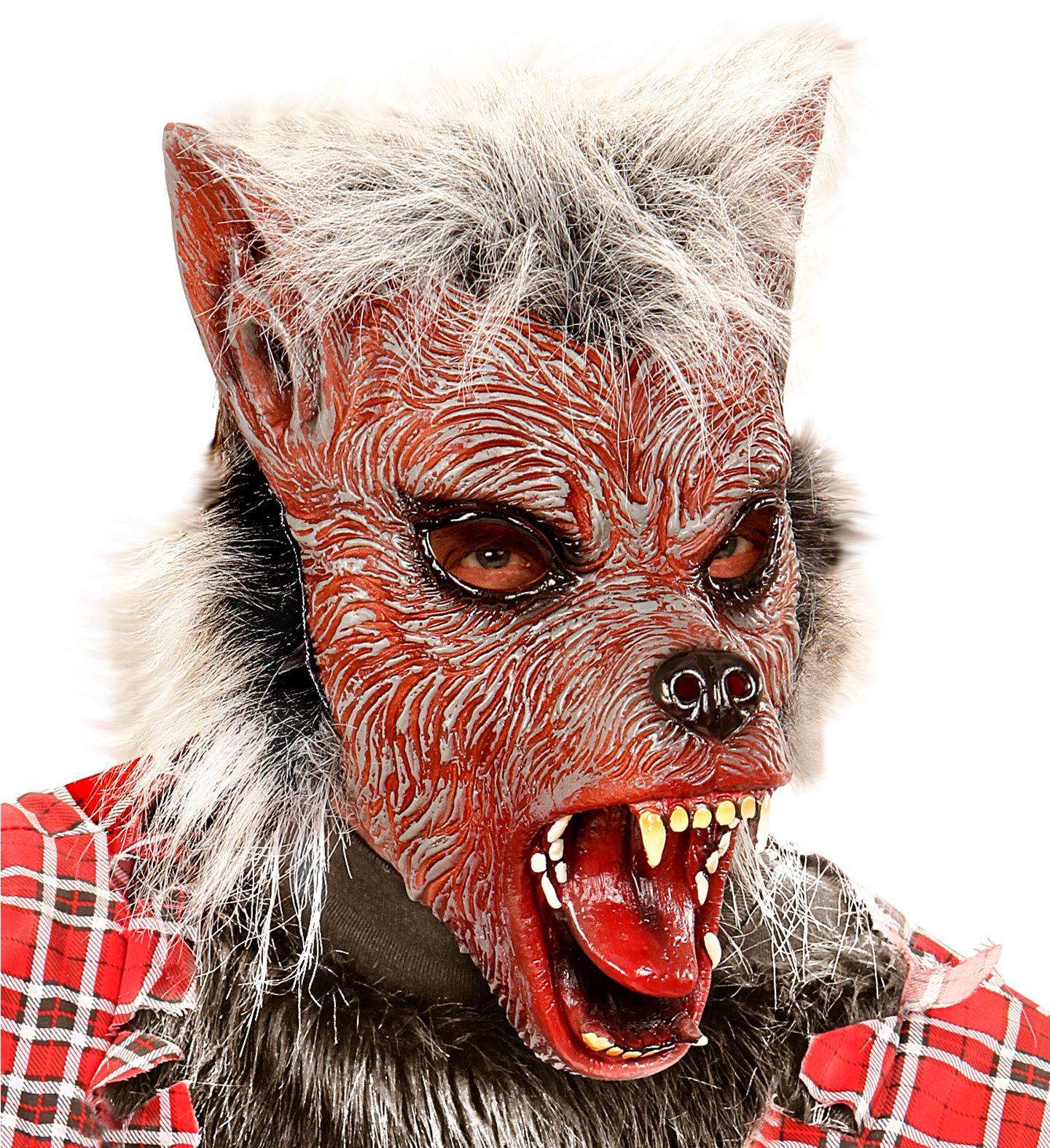 Weerwolf masker kind