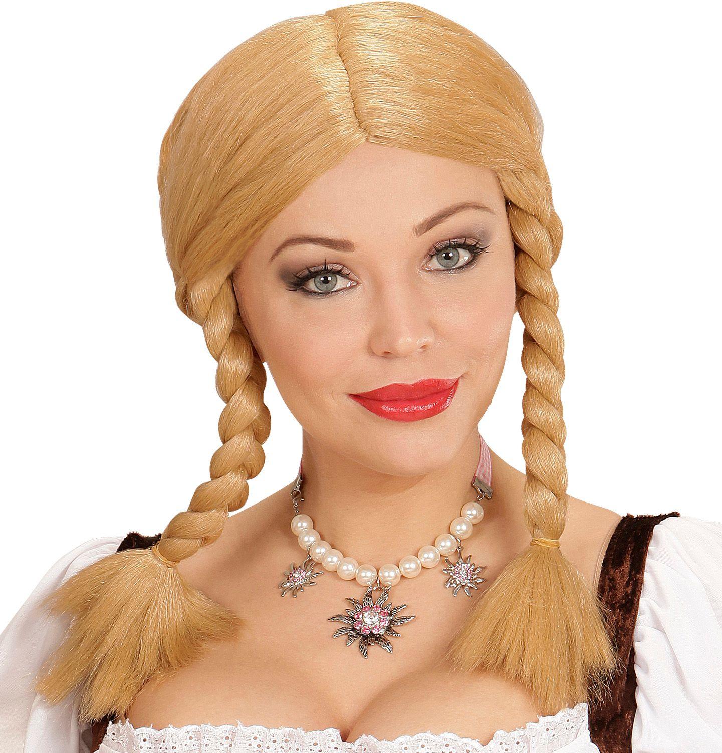 Wendy pruik blond
