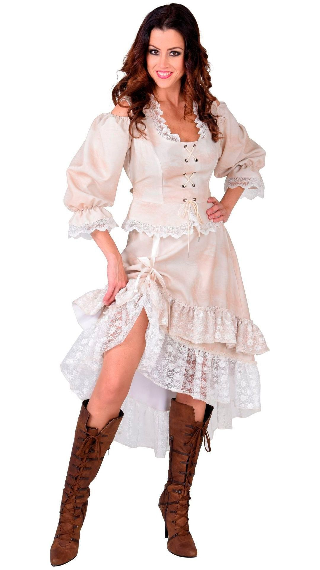 Wild west saloon girl rokje