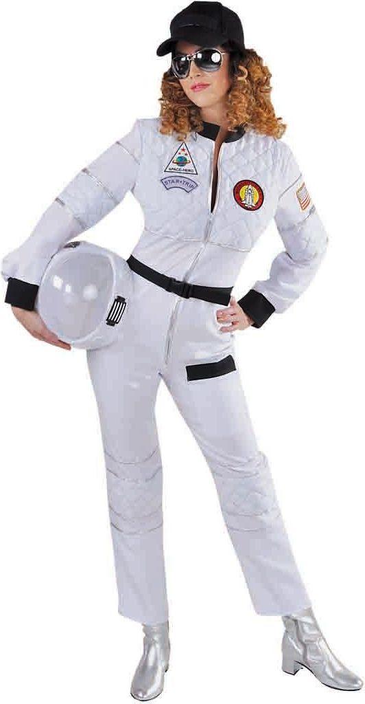 Wit astronaut kostuum dames
