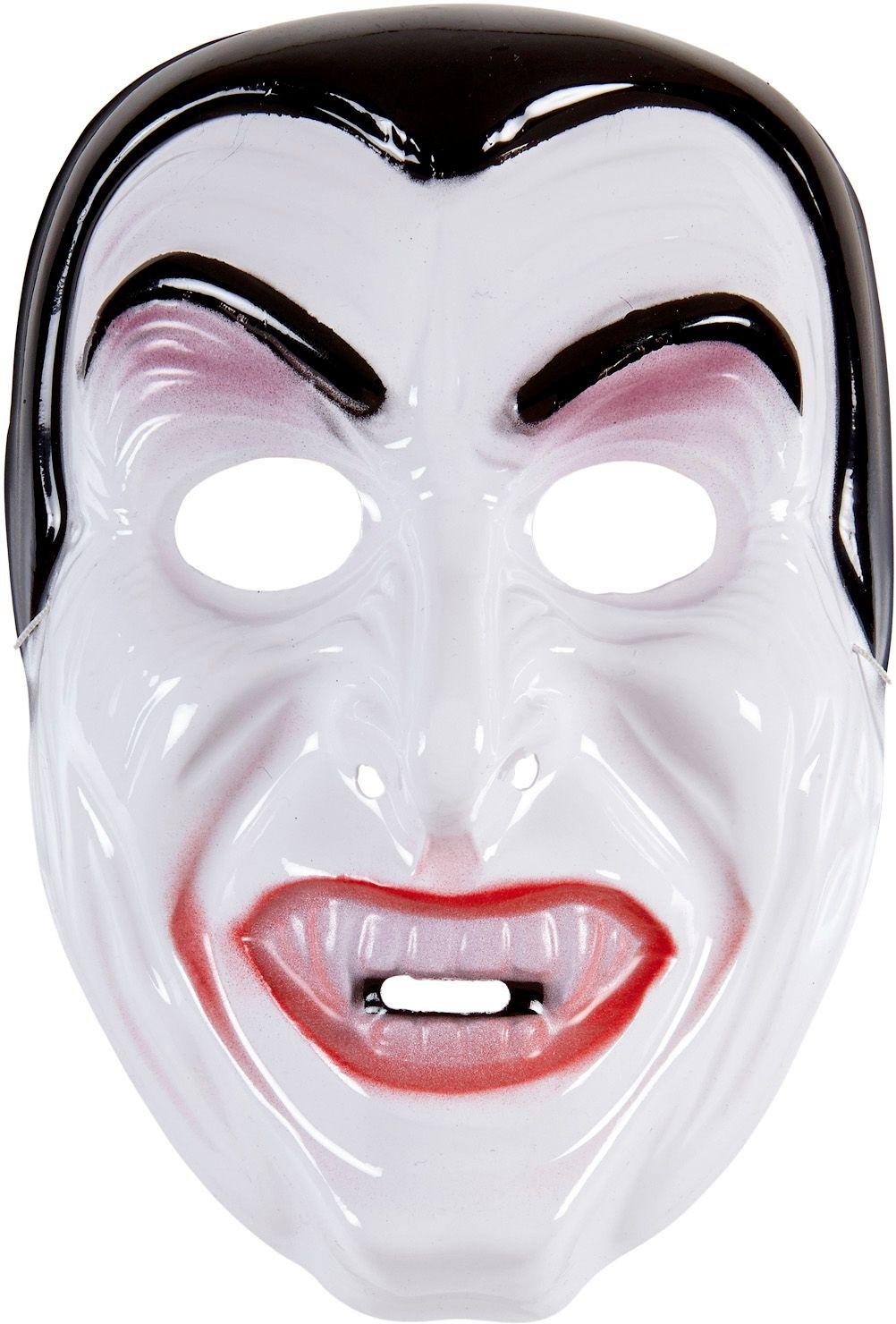 Wit vampier masker