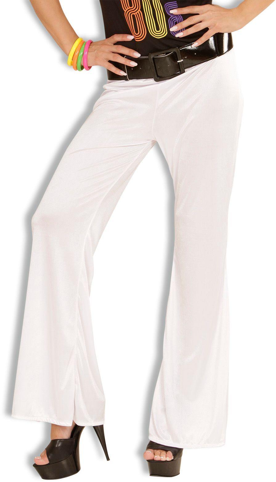 Witte 70s broek